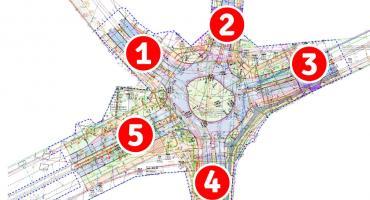 Miasto przebudowuje ulice, a Powiat skrzyżowanie
