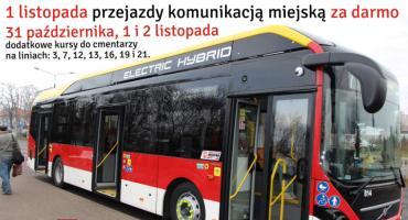 Autobusy MPK na Wszystkich Świętych