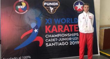 Mistrzostwa Świata Karate WKF Chile – 9. lokata Marii Kerner