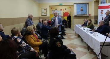 W Szymborzu odbyło się spotkanie z mieszkańcami