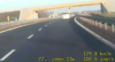 Jechał 180 km/h, trochę za dużo