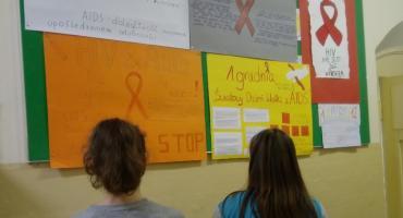 Światowy Dzień AIDS w SP nr 1