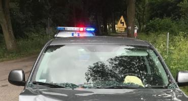 Ukradł paliwo, spowodował kolizję, był poszukiwany i poruszał się kradzionym samochodem