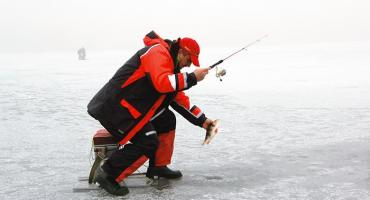 Jak skutecznie łowić z lodu?