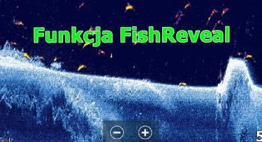Funkcja FishReveal w echosondzie
