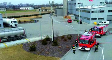 Strażacy w Witkowie