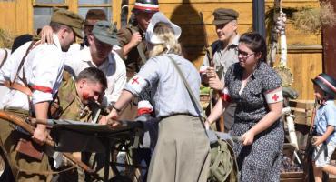 Wzruszająca inscenizacja walk powstańczych w Raciążu