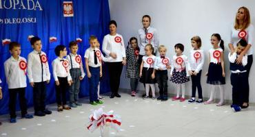 Świętowanie niepodległości - przedszkole Akademia ABCD Szerominek