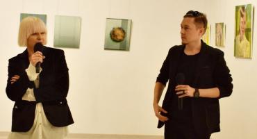 Wernisaż wystawy prac Roberta Wałęki