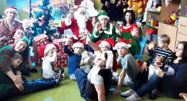 Mikołaj w jonieckim ośrodku