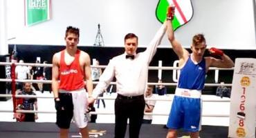 Sebastian Skwarski bokserskim mistrzem Mazowsza juniorów!