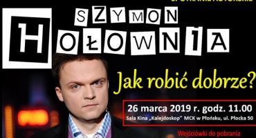 Biblioteka zaprasza na spotkanie z Szymonem Hołownią
