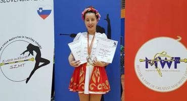 Ola Zuba trzykrotnie na podium w Słowenii