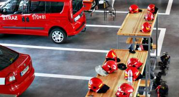 Strażacy udaremnili jazdę kierowcy z 2,6 promilami