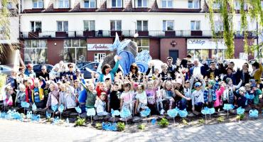Niebieski happening w Raciążu