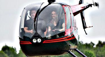 Śmigłowcowy zawrót głowy - starty do lotu nad Płońsk