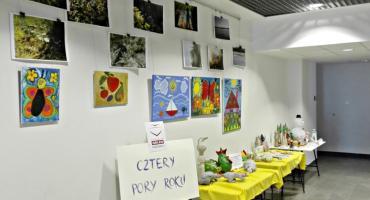 Cztery pory roku uczniów SOSW Płońsk na wystawie w MCK