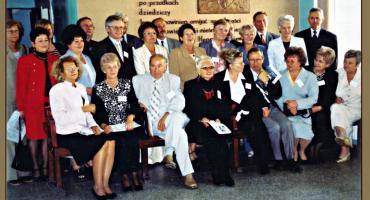 Spotkanie koleżeńskie absolwentów płońskiego LO roczników 1962-1965