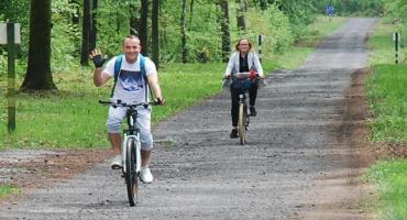 Marsz gwiaździsty, czyli rowerem przez powiat