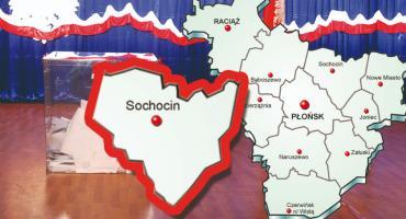 W gminie Sochocin PiS - 64,93 %; KE - 24,72 %