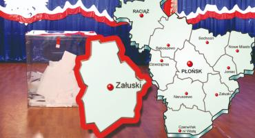 W gminie Załuski PiS - 64,41 %; KE - 23,60 %