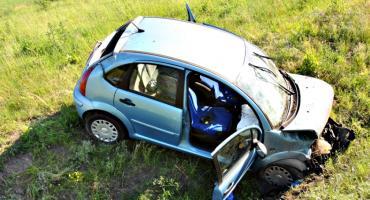 Dwoje rannych w wypadku na wiadukcie