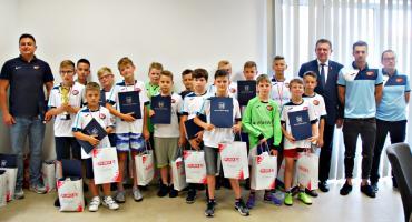 Wyróżniono młodych piłkarzy