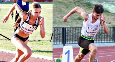 Lekkoatletyczne medale płońszczan w mistrzostwach Polski juniorów - złota Bronowska, srebrny Charzyński