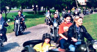 LATO Z RETRO - pierwszy płoński zlot motocyklistów z 2001 roku