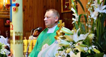 Uroczysty ingres nowego proboszcza w Chociszewie