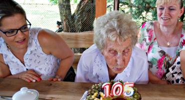 105 lat pani Bronisławy!
