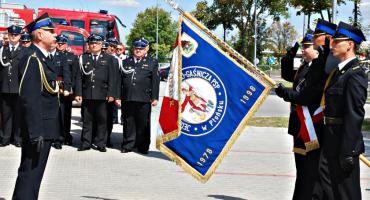 Uroczyste pożegnanie komendanta Jakubowskiego