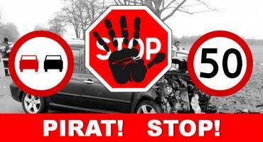 Ostatnie dni na drogach - piraci i na podwójnym gazie