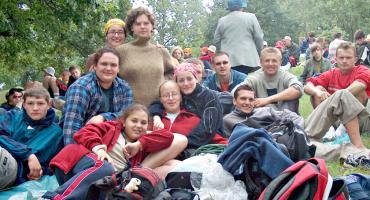 LATO Z RETRO - nasi w drodze na Jasną Górę - 2005 rok