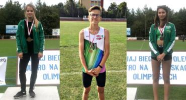 Trzy medale lekkoatletów MKS Bank BS Płońsk w Olecku