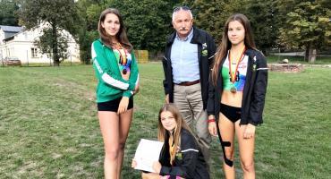 Trzy złota lekkoatletek na mistrzostwach Mazowsza młodzików