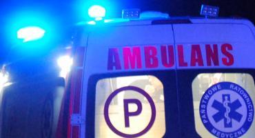 Poważny wypadek w Chociszewie - trzy osoby trafiły do szpitala