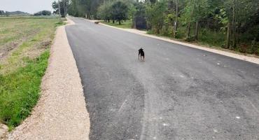 Przebudowa drogi w Naborowie zakończona