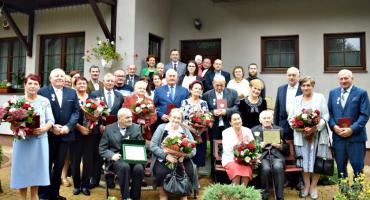 Diamentowo-złota uroczystość par małżeńskich z gminy Załuski