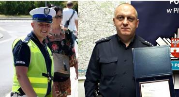 Dwaj płońscy policjanci wyróżnieni