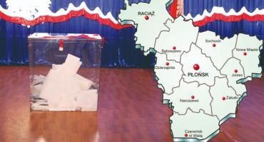NASZE GŁOSOWANIE - w powiecie płońskim PiS - 56,12 %, KO - 14,70 %, PSL - 13,59 %