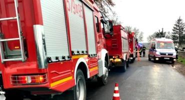Dwóch poszkodowanych w wybuchu gazu