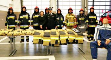 Specjalistyczne ubrania dla strażaków