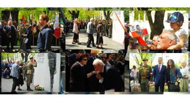 Odsłonięcie pomnika Witolda Pileckiego na Żoliborzu
