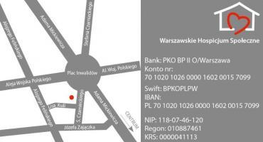 Trzy dekady pracy Warszawskiego Hospicjum Społecznego