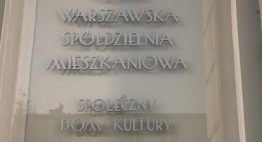 """""""Społeczny Dom Kultury""""  na Żoliborzu."""