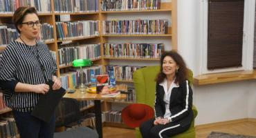 Relacja ze spotkania z bohaterką książki
