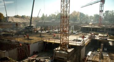 Z wizytą na budowie Muzeum Wojska Polskiego
