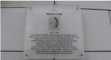 Rocznica śmierci Hanki Czaki