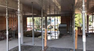 Rozbudowa szkoły nr 65 w toku